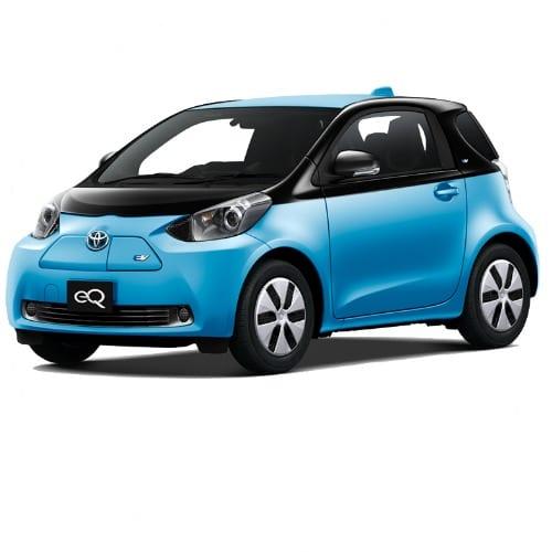 Toyota Eq Ev Micro Car