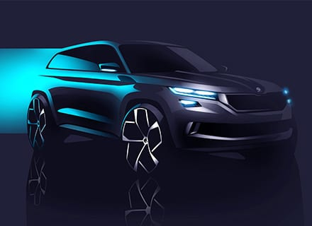 SKODA VISION S SUV CONCEPT ELECTRIC VEHICLE