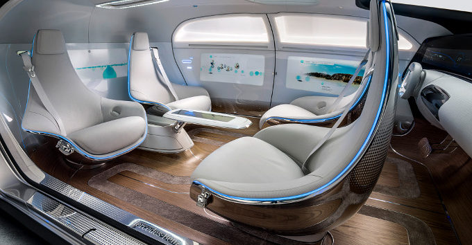 MERCEDES BENZ F015 CONCEPT VEHICLE