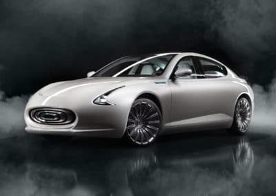 Thunder Power Sedan Concept Electric Vehicle