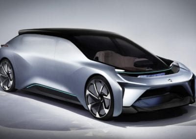 NIO EVE Autonomous vehicle NIO EVE Self-Driving car