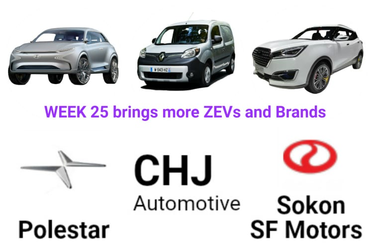 Top 5 Electric Vehicle News Stories of Week 25 2017
