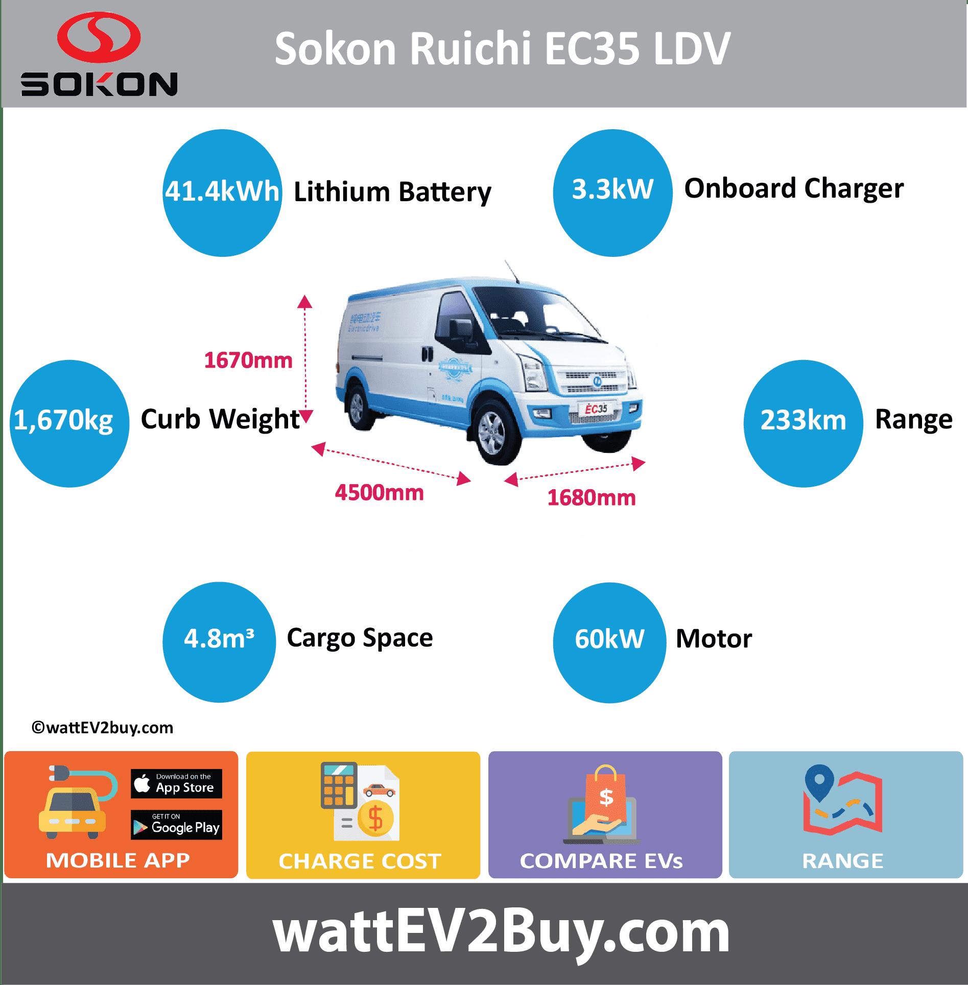 Sokon-Ruichi-EC35-Specs