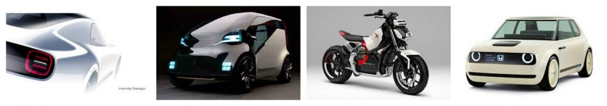 Top 5 ev news week 41 2017 Honda Concept vehicles