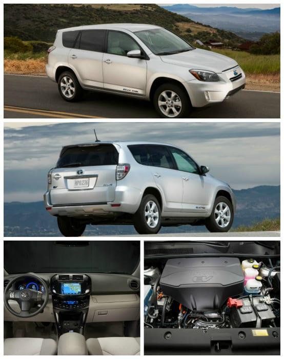 Toyota Rav4 Ev Pictures