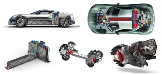Rimac-concept-one-drivetrain-pictures