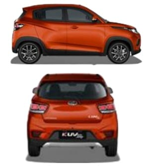 Mahindra-KUV100-EV-pictures