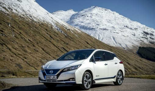 Top 5 ev news week 19 2018 Nissan-Leaf-wins-award