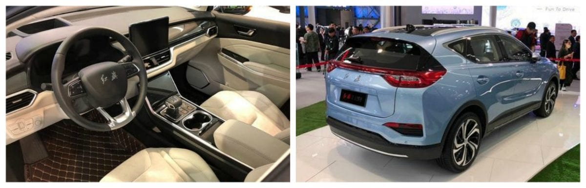 Hongqi-EHS3-pictures Top % EV NEws week 17 2018