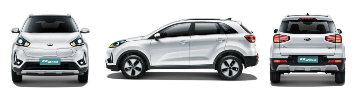Dongfeng-yueda-kia-KX3-EV-pictures