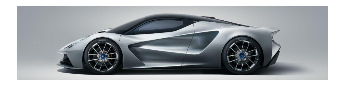 Lotus unveils the Evija Hypercar