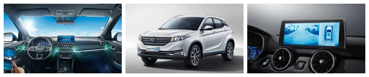 Dongfeng announced pricing for the E3 EV SUV