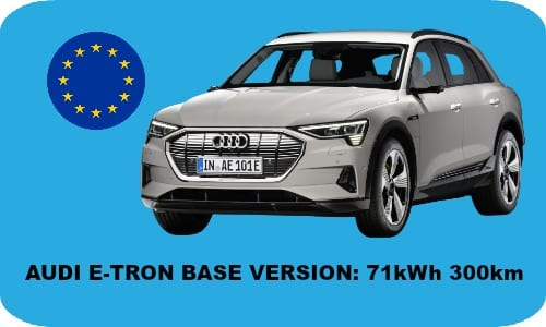 Base Version Audi E-tron is coming