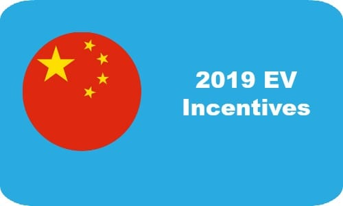 2019 Chinese EV incentives kick in