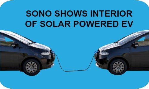 Sono shows interior of Solar EV