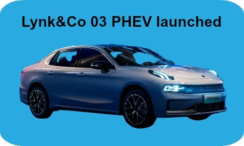 Lynk&Co 03 PHEV launched