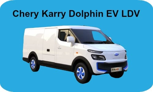 Chery Karry launches EV LDV