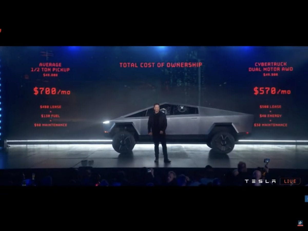 All the specs from the Tesla CybrTrk reveal