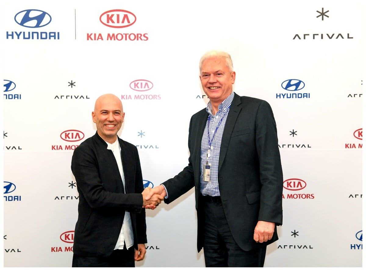 Hyundai & KIA invest in British start-up to develop commercial EVs