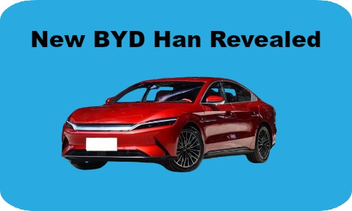 More details revealed of new BYD Han EV
