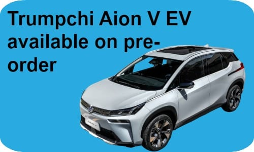 GAC Trumpchi Aion V launch date set