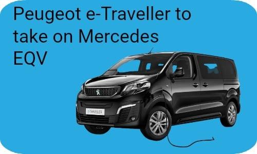 Peugeot e-Traveller to take on Mercedes EQV