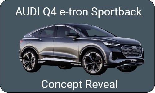 Audi Reveals its Q4 e-tron Sportback Concept