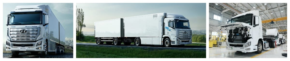 Hyundai XCIENT FCEV Truck pictures