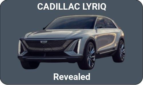 Cadillac Lyriq Unveiled